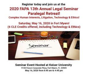FAPA Seminar